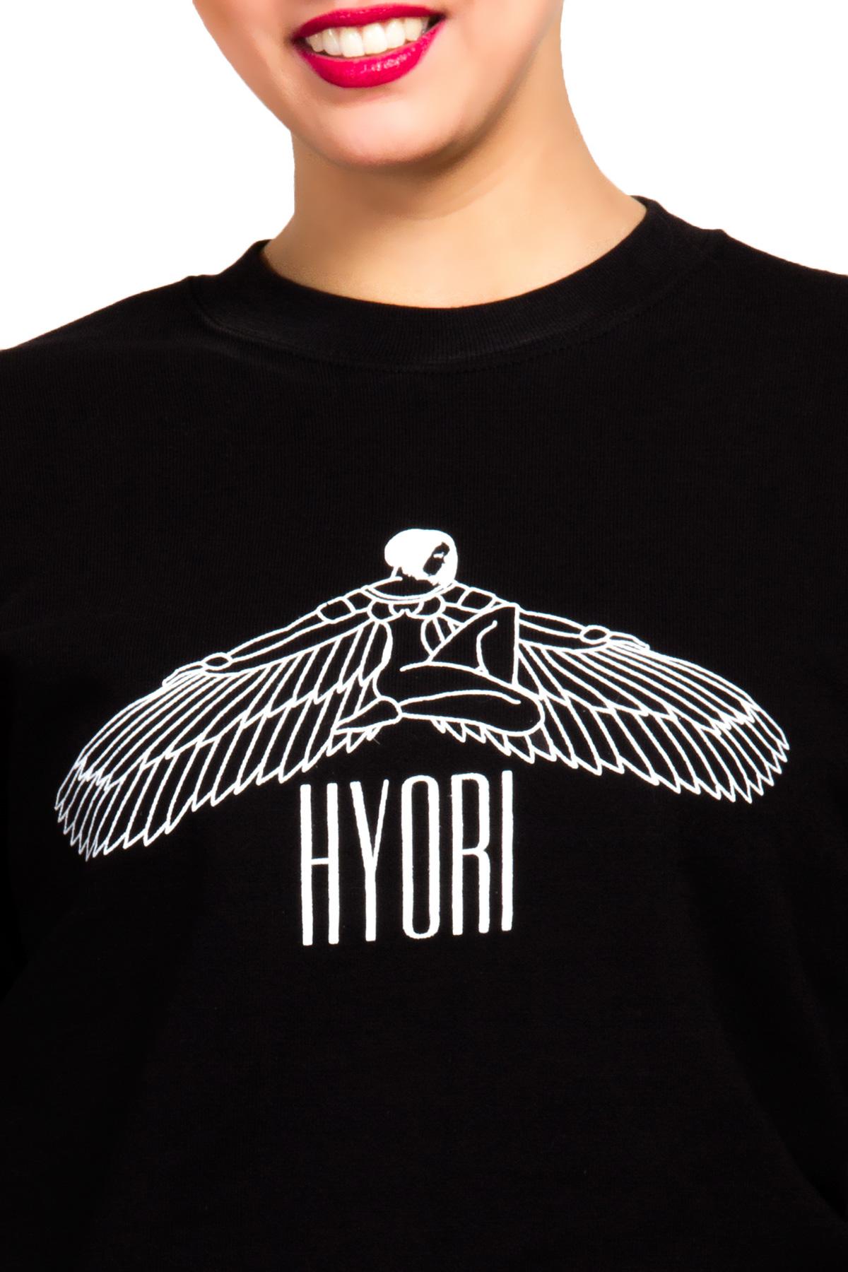 Hyori Goddess Isis Flawless Sweatshirt in Schwarz für Frauen