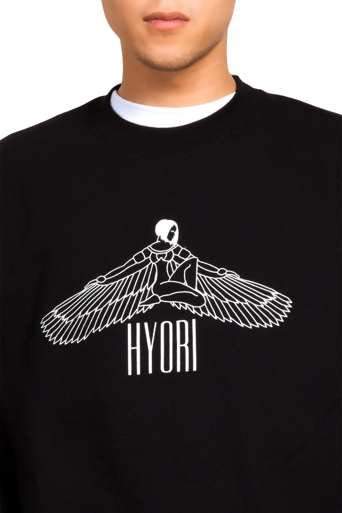 Hyori Goddess Isis Flawless Sweatshirt in Schwarz für Männer