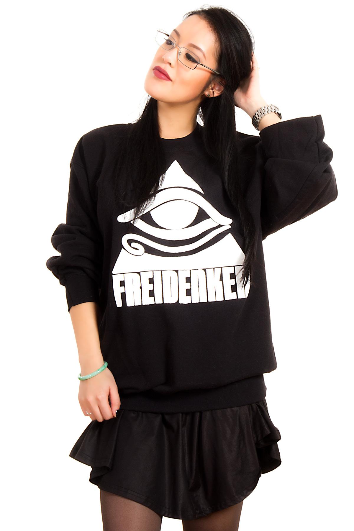 Hyori Feidenker für Zivilcourage Sweatshirt in Black for Women