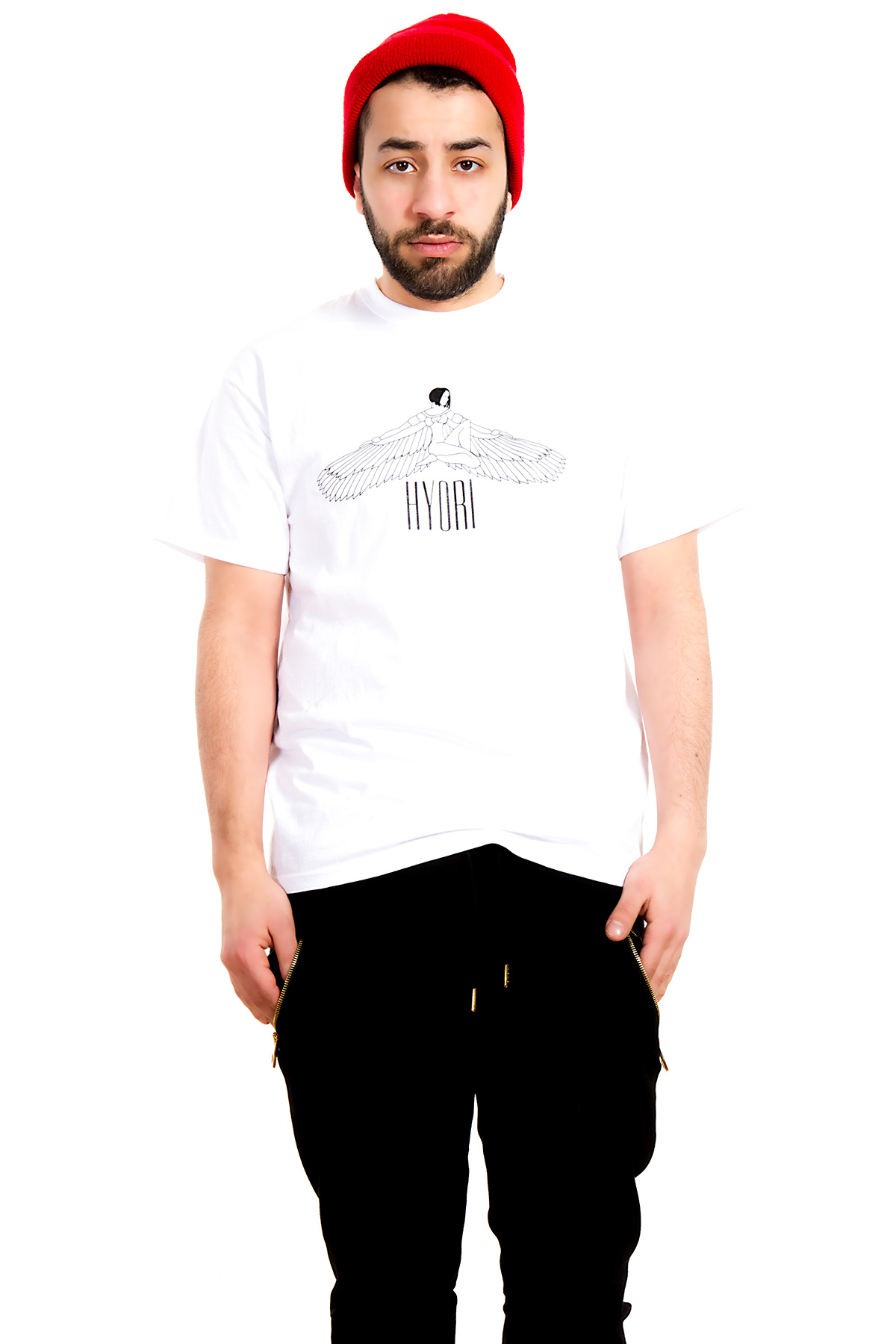 Hyori Goddess Isis T-Shirt in White for Men