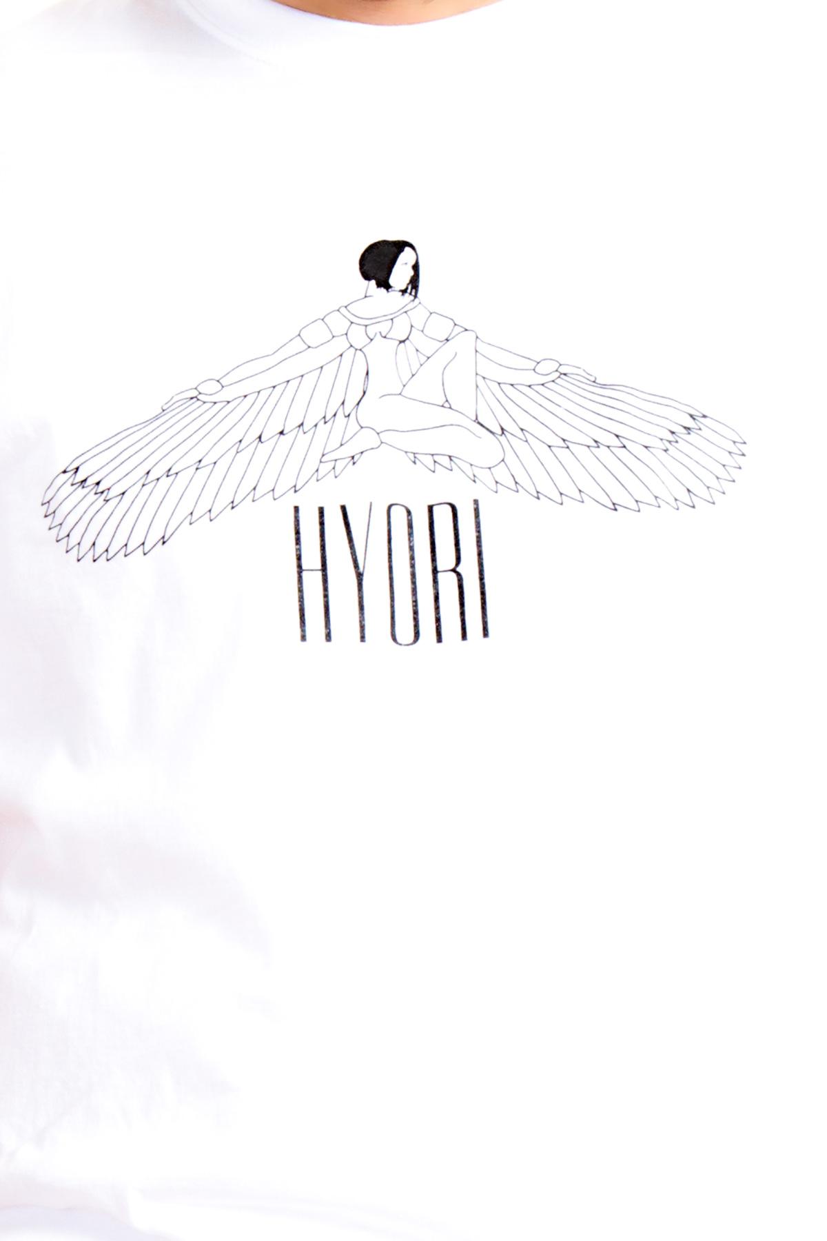 Hyori Goddess Isis T-Shirt in Weiß für Herren