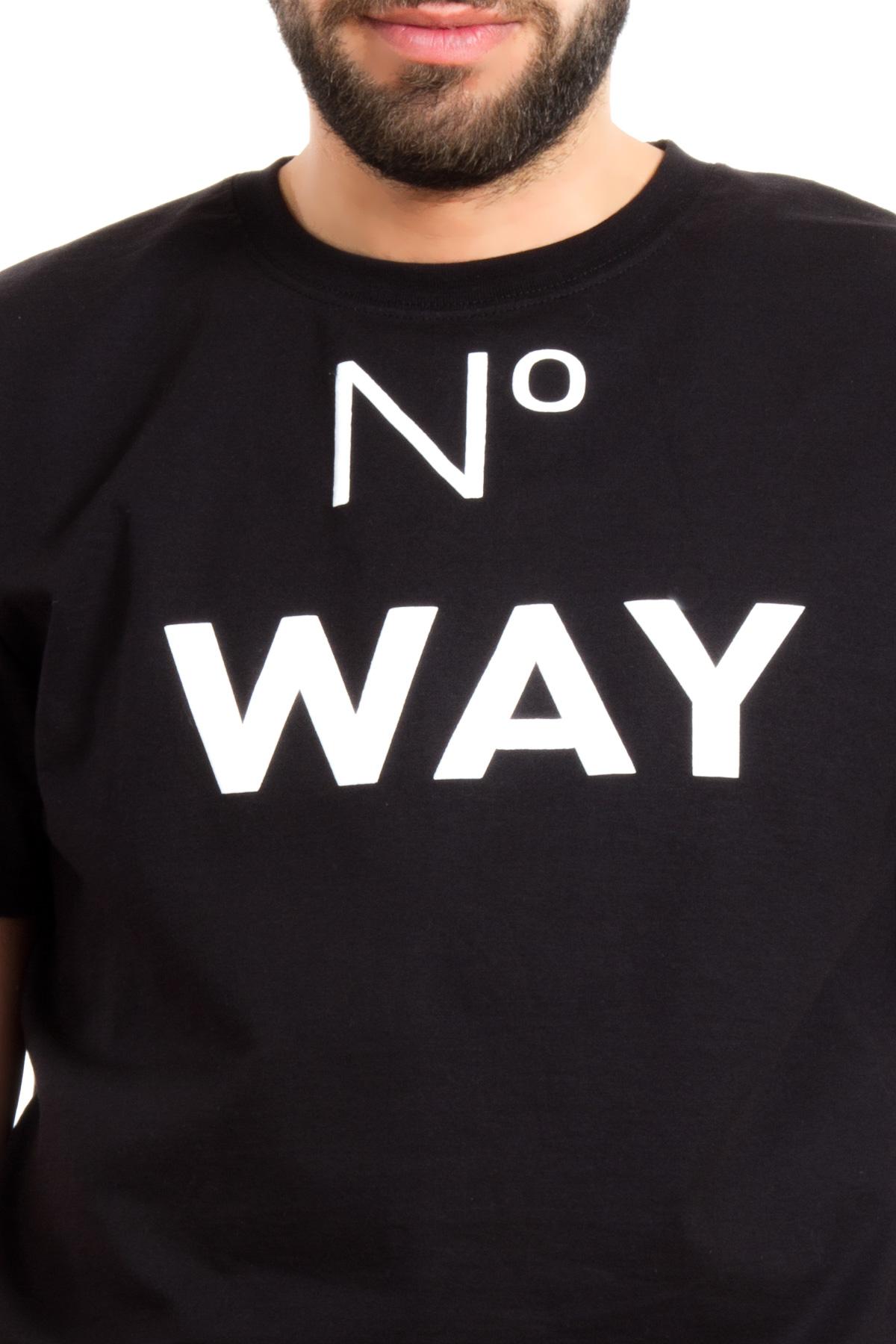 Hyori No Way T-Shirt in Schwarz für Männer