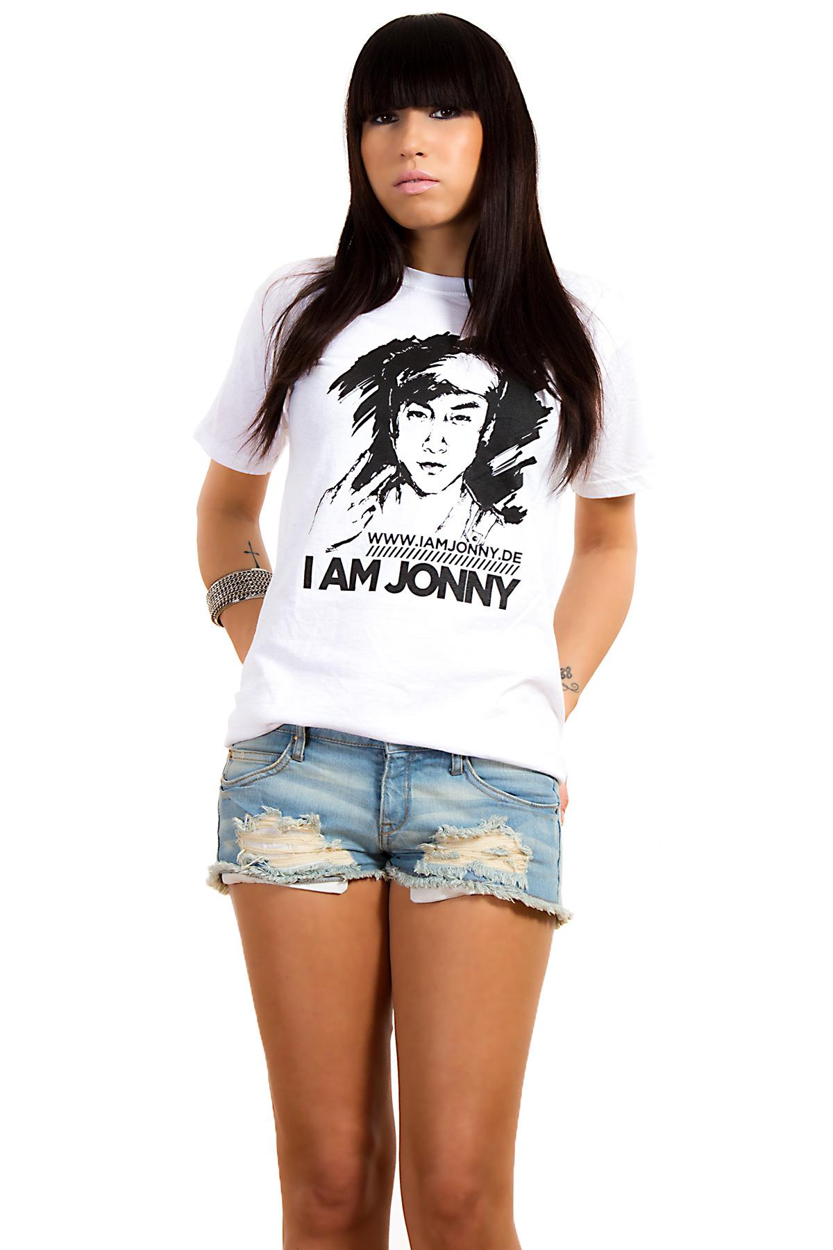 I Am Jonny Classic T-Shirt in White for Women